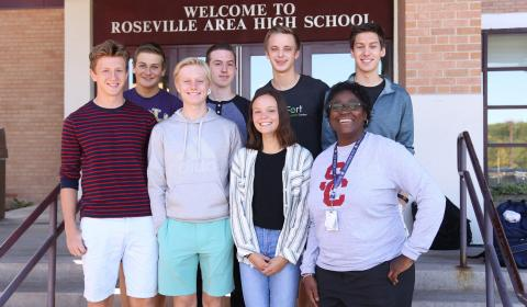 Students recognized as National Merit Commended Scholars