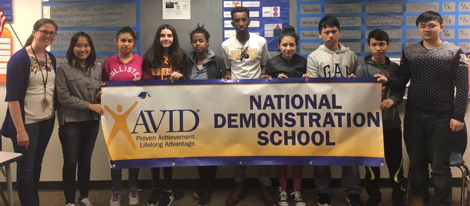 RAHS is a nationally accredited AVID Demonstration School